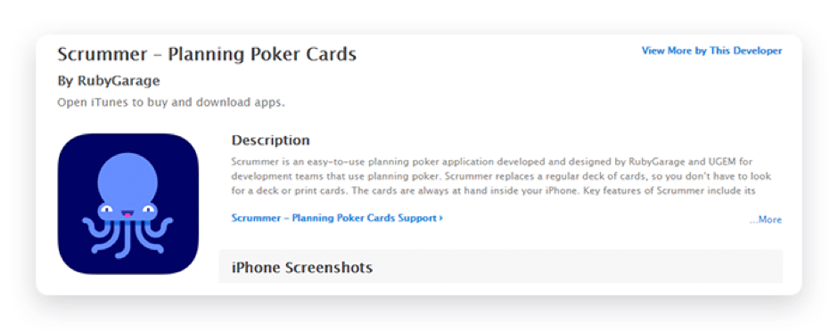 Scrummer - App Store